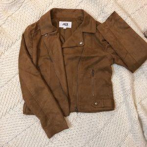 EUC Jack by B.B. Dakota camel poly blend jacket